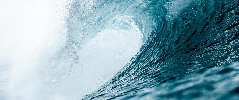 Bild einer Welle
